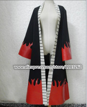 Fashion Anime One Piece Cosplay Costume Men Luffy Portgas D Ace World Cloak Red Clothes for Halloween Party