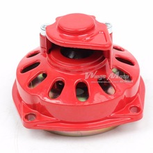 47cc 49cc Pocket Bike ATV Gear Box Clutch Drum 25H Chain 6T Red