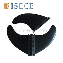 High quality plastic black FCS surf fins G5 size Nylon surf board fins(China)
