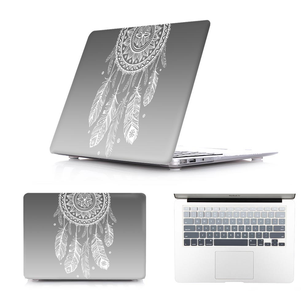 Fashion Gradual Crystal Case for Macbook Pro Retina 13 15 Hard Cover MacBook Air 13 11 12 inch Sleeve with Keyboard Cover<br><br>Aliexpress