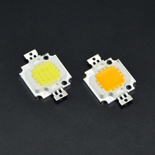 1Pcs 2015 Full watt 10W High Power LED Integrated Chip light source 9-12V 900-1100LM 24*44mil lamp SMD IC Flood light(China)