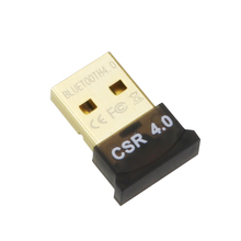 Mini USB Bluetooth Adapter V4.0 CSR Dual Mode Wireless Bluetooth Dongle 4.0 Transmitter For Windows 10 8 Win 7 Vista XP 32/64Bit