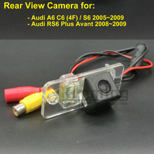 Car Rear View Camera for Audi A6 C6 4F S6 RS6 Plus Avant 2005 2006 2007 2008 2009 Wireless Wired Parking Reversing Backup Camera