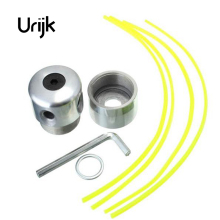 Urijk 1 Set Best Quality Aluminum Mow Grass Head Nylon Grass Strimmer Simply Constructed Lawn Mower Accessories 5.5cmx5cm(China)