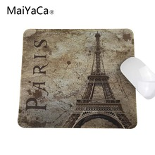 Ot Fashion And Durable Quick Game Scenery Of The Eiffel Tower In Paris Gamers Notebook Mouse Pad Used In Offices And Homes(China)