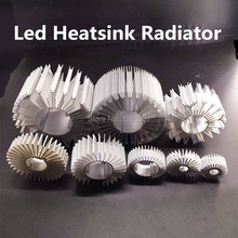 5pcs/lot LED Heatsink Aluminum Base Radiator For 1W-36W High Power LED Cooler Sunflower UFO Round PCB Radiator LED Lamp DIY(China)