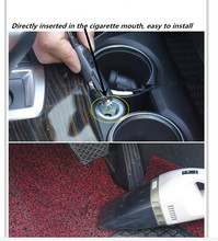Car-Styling Portable Car Vacuum Cleaner Wet And Dry Dual for Chevrolet Cruze 2013 Spark Onix Silverado Volt Camaro Aveo(China)