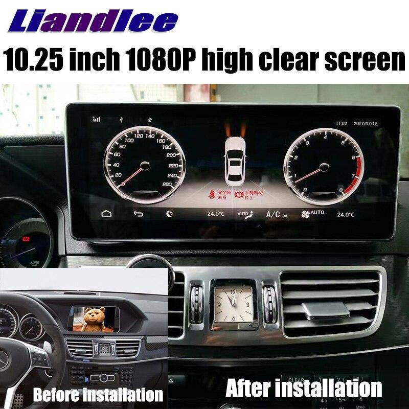 Liandlee Car Multimedia Player NAVI For Mercedes Benz MB E Class C207 C238 2013~2017 Car Radio Stereo GPS Navigation 1