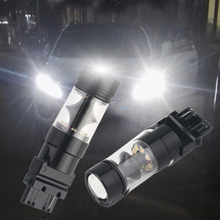 ICOCO ICOCO T25 6000K White 20LED Reverse Lights 12V-24V Car Parking Bulb Black & Silver Long Life 50000 Hours Low Consumption(China)