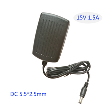15V 1.5A AC DC adapter Converter Adapter Charger EVD DVD charger LED monitor mobile TV 15V 1500MA power supply(China)