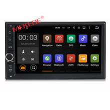 HD 1024X600 Android 7.1 Quad Core 16GB Flash Universal Double 2 din 2Din Car dvd player Stereo GPS Navigation Radio DDR3 4G Wifi