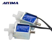 2PCS Two Position Three Way Miniature Solenoid Valve Small Electric Control Valve exhaust Drain valve DC 5V 6V(China)