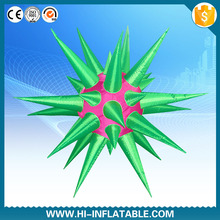 Best design event decoration lighting items inflatable star with led light for party decoration