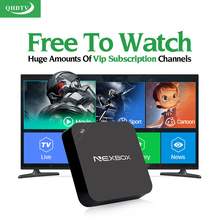 Buy Dalletektv Arabic IPTV Box Android QHDTV Subscription IPTV 1 Year Europe Italia Smart TV Box 1300 Channels French IPTV Top Box for $33.75 in AliExpress store
