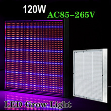 120W LED Grow Light AC 85-265V High Power Garden Greenhouse  Plants Flowers Vegetables Potting Aquarium Grow Light US Plug