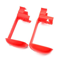 10 Sets Chicken tool Red Hanging drinking cup Drinking Fountains Bird nipple drinker Chicken farming equipment Free shipping
