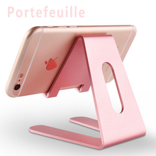 Portefeuille Cell Phone Stand Cradle Holder For Switch Android Smartphone iPhone 6 S 6s 7 Plus 5 5s 5c Charging Accessories Desk