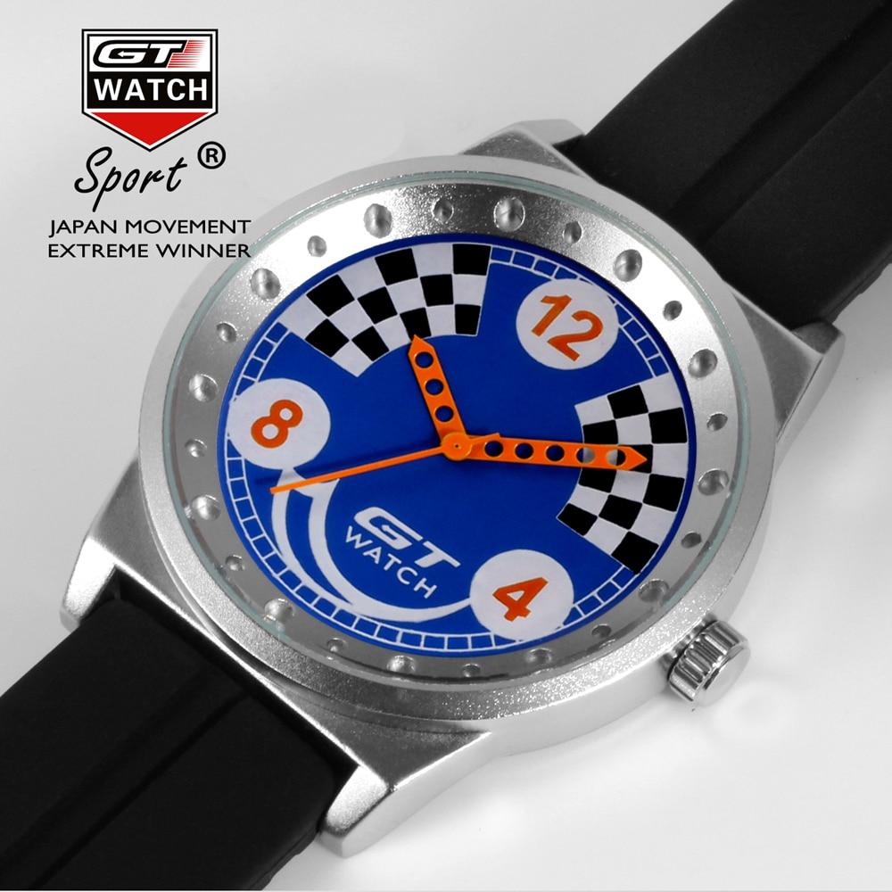 GT watch Fashion Watch Men Dress Quartz-Watch Casual Wristwatch Women Relogio Feminino relojes mujer silicone Clock<br><br>Aliexpress