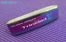 KZG GOLF RIFE Trinidad ISLAND SERIES CNC milled golf putter head special colourful(China)