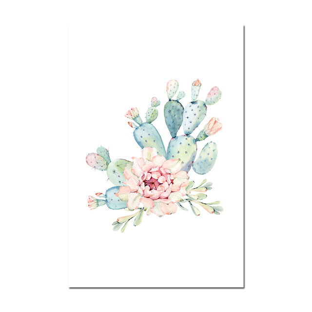 Cactus-Decor-Wall-Art-Canvas-Painting-Watercolor-Plant-Flower-Canvas-Posters-and-Prints-Wall-Pictures-for.jpg_640x640 (1)