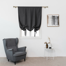 Sinogem Tie Up Shades for Window Roman Style Top-rated Blackout Curtain Window Drape for Kitchen Bedroom Living Room(China)