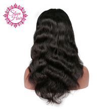 Slove Hair Brazilian Full Lace Human Hair Wigs For Black Women With Baby Hair Remy Human Hair Body Wave Wigs Free Shipping(China)