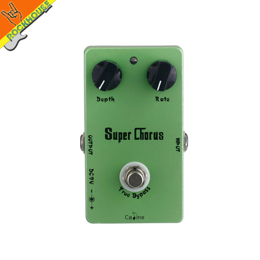 Caline CP-13 Vintage Analog Chrous Guitar Effects Pedal Chorus Guitarra Stompbox Fruity and Sweet True Bypass Free Shipping<br>