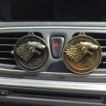 Game of Thrones Cartoon  Car Outlet Perfume Men and women car outlet Clip Air Freshener Car-styling Perfumes 100 Original