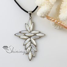 cross sea water white oyster shell  mother of pearl necklaces pendants handmade fashion jewelry 2013 cheap handmade jewelry