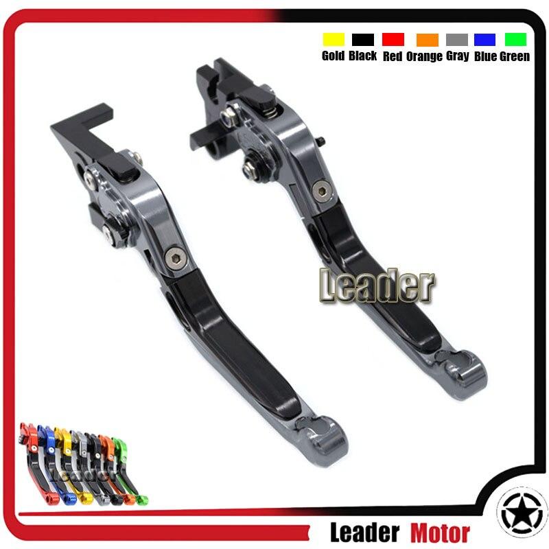 For YAMAHA MT09 MT07 FZ07 MT-07 FZ-07 FJ-09 MT-09 Tracer FZ-09/MT-09/SR Motorcycle Folding Extendable Brake Clutch Levers Gray<br><br>Aliexpress