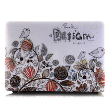 New Laptop Case Floral  Shell for Apple Macbook Air/Retina/Pro 11 12 13 15 Laptop Sleeve 13.3 inch 11.6 15.4 Notebook Computer