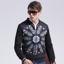 2017 Top Standard Casual No Military In Europe And The New Code Printed Padded Jacket Slim Coat Aliexpress Explosion Fat Suit