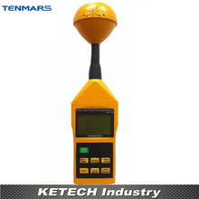 3-Axis EMF RF ElectroMagnetic Field Strength Meter 10MHz-8GHz Electromagnetic Radiation Detectors TM-196(China)
