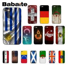 Чехол для телефона Babaite Flag of UK USA Venezuela uteria Uruguay Iran syrise Scotland для iPhone 8 7 6 6 S Plus X XS MAX 5 5S SE XR 10(Китай)