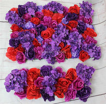 2017 NEW! Purple red series Artificial rose flower wall arch wedding party decorations backdrop table centerpiece flower ball