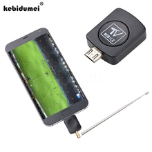 kebidumei Mini Micro USB DVB-T tuner TV receiver Dongle/Antenna DVB T HD Digital TV HDTV Satellite Receiver for Android Phone