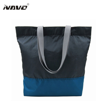 1 Piece fabric bags recycle PET eco reusable shopping bag Foldable Grocery Sac opvouwbare tas folding shopping tote(China)
