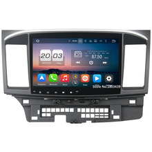 2GB RAM 32GB ROM Android 6.0.1 Octa Core LCD Touch screen Car audio 12v auto radio player bluetooth For Mitsubishi Lancer 2015(China)