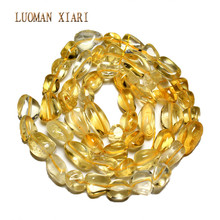 Buy Irregular Straight Hole Natural Citrines Yellow Crystal Stone Beads Jewelry Making 5-8 mm DIY Bracelet Necklace Strand 15'' Store) for $2.94 in AliExpress store