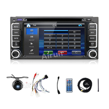 "In Dash Car DVD Player Double 2 DIN 6.2"" for Toyota car dvd CD Radio Stereo Video In Car Multimedia Player"