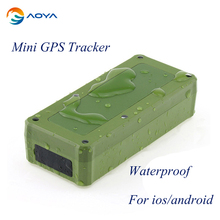Mini GPS/GSM/GPRS Magnetic GPS Tracker Locator Realtime Tracking Device Person Track Device For Android/IOS GPS Waterproof A206B