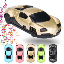 Mini MP3 Player Portable USB Super Cute Car Shap MP3 Player with Earphone Support 32GB Microphone SD TF Card Quility Nov23(China)