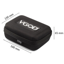 Vgod Vape Bag Vaporizer Case For E cigarette Mechanical Mod Box Mod Atomizer Battery Drip Tip VS Coil Fater Pbag X9 Bag