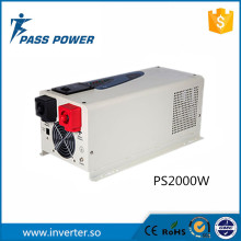 UPS function low frequency hybrid solar inverter 2000w with charger,mad in China