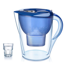 Portable Water Pitcher Pure Healthy Mineral Water with 1 Filter Jug BPA Free Filter Kettle Water Jug with Filter Element(China)