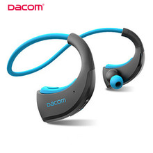 Dacom Armor Bluetooth V4.1 Stereo Headphones IPX5 Waterproof Wireless Outdoor Sports Headset Handsfree Music Earphone With Mic