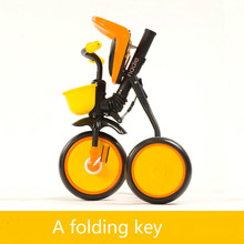 Lightweight folding bicycle tricycle riding toys 1-32-5 years old baby child bicycle Easy