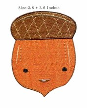 "3.6""high Brown Man embroidery patch  crafts felt/wedding/minions"