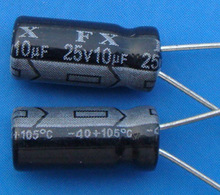 Free Delivery.High and low voltage complete series 10 UF ultrafiltration electrolytic capacitor 25 V 3100 yuan