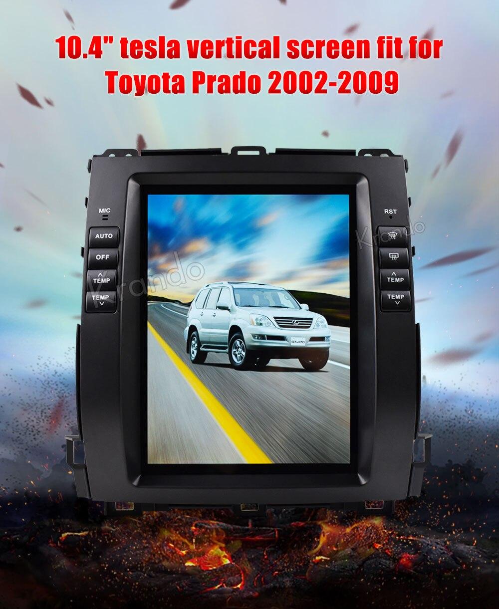 Toyota Prado 2002-2008 LEXUS GX470 10.4'' CH (1)